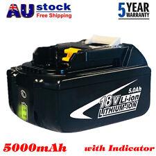 BL1860B For Makita 18V 6.0Ah BL1830 BL1840 BL1850B LXT Lithium Cordless Battery