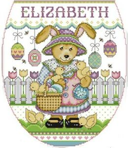 Easter Egg Park. Rabbit. 14CT counted cross stitch kit. Craft brand new
