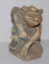 "OSCAR Gargoyle Collectible Figurine Statue Polyresin 5"" Tall Aged Finish"
