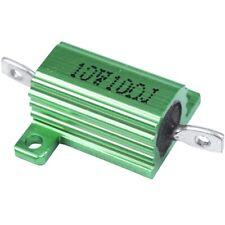 Alambre De Oro Aleación de la herida mejor potencia vatios 100W alojado Resistor 1//2//4//8//10 Ohm