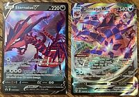 ETERNATUS V and VMAX PROMO BUNDLE PACK FRESH NM CONDITION POKEMON CARDS.