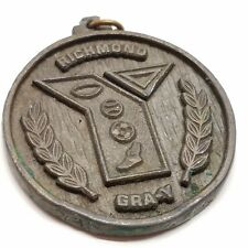 VTG Early YMCA Richmond Gra-Y Youth Metal Medallion Medal Sports Athletics Kids
