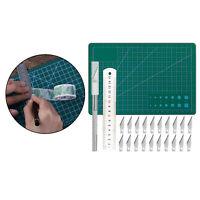 24 Pièces/ensemble Précision Sculpture Cutter Lames Kit Planche à Découper R