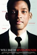 SEVEN POUNDS MOVIE POSTER 2 Sided ORIGINAL 27x40