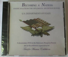 BECOMING A NATION: AMERICANA FROM THE DIPLOMATIC RECEPTION ROOMS DOCUMENTARY DVD