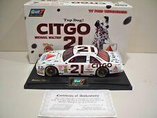 Revell NASCAR 1997 1/18 scale Michael Waltrip #21 Citgo, Top Dog  car