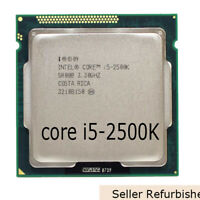 Intel Core i5-2500K CPU 3.3GHz 1600MHz LGA1155 Quad Core 4-Thread Processor Used
