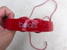 Beats Headband Headphones Portable Red Case Skins
