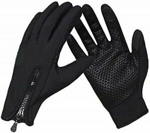 Waterproof Winter Gloves Windproof Running Warm Gloves Touchscreen Mens Women