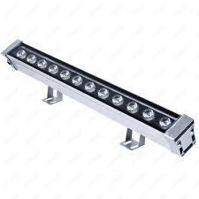 Outdoor 12W LED Wall Wash Light Strip Floodlight Washer Lamp Bar Garden Bridge