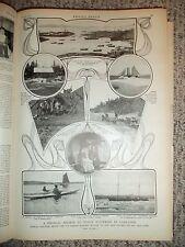1903 LW Magazine Article Medical Mission Deep Sea Fishermen Labrador Dr GRENFELL