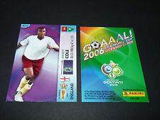 ASHLEY COLE ENGLAND PANINI CARD FOOTBALL GERMANY 2006 WM FIFA WORLD CUP