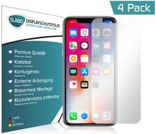 """Slabo Displayschutzfolie für iPhone X (4er Set) KLAR """"Crystal Clear"""""""