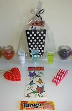 20 Pre Filled Black and White Polka Dot Treat Boxes Girls Pamper Party Goody Bag