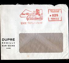 """ROMILLY-sur-SEINE (10) USINE de SOUS-VETEMENTS """"POLICHINELLE / DUPRE"""" en 1961"""
