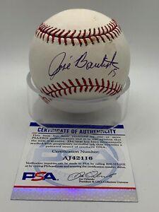 Jose Bautista Toronto Blue Jays Signed Autograph Official OMLB Baseball PSA DNA