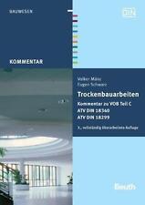 Eugen Schwarz, Volker Mänz / Trockenbauarbeiten, 2 Bde