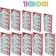 1000 Dorco Platinum ST-301 Double Edge Safety Blades - Fast Shipping