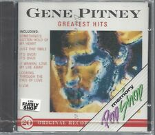 CD--GENE PITNEY--GREATEST HITS -20 TRACKS, ON CBS-