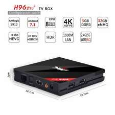H96 Pro+ Android 7.1 TV Box Octa Core Amlogic S912 HDMI 4K 3G+32G With Keyboard