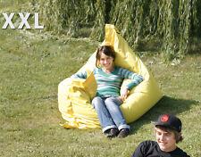 Chillout Pouf Sac assise XXL, Brun, 380L