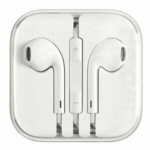Earphones Headphone For iPhone Xs Max 7 8 6s 6 Plus 5 5S SE 2020 iPad Handsfree