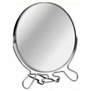 "6"" Makeup Cosmetic Mirror Bathroom Vanity Travel Folding Small 2Way Zoom Magnify"