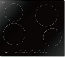 LOGIK LCHOBTC16 4 Zone Electric Ceramic Hob With Touch Controls Black
