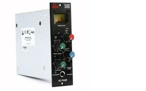 dbx 580 Mic Pre Instrument Preamp 500 Series | 2-Day Ship | Authorized Dealer