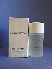 Donna Karan Cashmere Mist Perfume Body Oil Spray 2.5 oz 75 ml New in Box RARE