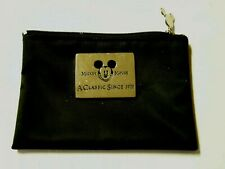"Mickey Mouse Coin Purse, Vintage, 5.5"" x 4"", Black, Brand New"