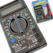 Digital Multimeter Circuit Tester Multi Testing Meter Test Volts Amps Continuity
