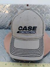 Case construction almond twill black stitch Cap Hat Trucker licensed ih cih nice