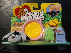 1999 Galoob Pound Puppies Frolicking Friends Flapping Ears Dog w/Box Accessories