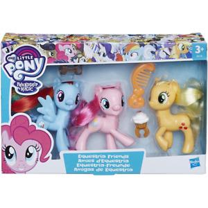 My Little Pony Equestria Friends - Pinkie Pie Rainbow Dash and Applejack New
