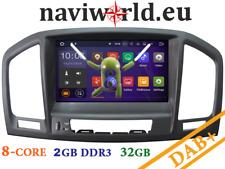Opel Insignia Android OREO Autoradio Navigation 3D Navi DVD Bluetooth USB WIFI