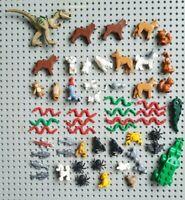 52x Lego Animals, City, Friends, Jurassic Park bulk Joblot