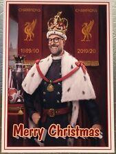LFC LIVERPOOL FOOTBALL CLUB JURGEN KLOPP UNIQUE A5 CHRISTMAS CARDS