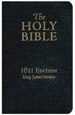 KJV 1611 Bible 400th Anniversary Edition Genuine Leather, Black