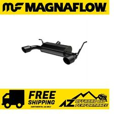 Magnaflow MF Axle Back Dual Exit Exhaust For 2018-20 Jeep Wrangler JL Black