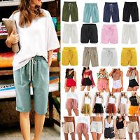Women Hot Pants Summer Casual Shorts Beach High Waist Short Dress Trousers Lots