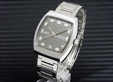 CITIZEN Square Custom Antique One Piece Case DayDate Gray Dial Automatic Watch