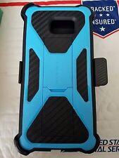 New i-Blason Transformer case w/belt clip for Samsung Galaxy Note 7 black/blue