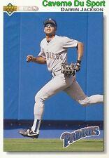 328 DARRIN JACKSON SAN DIEGO PADRES BASEBALL CARD UPPER DECK 1992