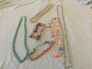Collection Of 6 Necklaces And Bracelets
