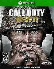 Call of Duty: WWII (Microsoft Xbox One, 2017) - Adult Owned/Excellent Condition