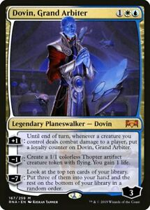 Dovin, Grand Arbiter x4 Magic the Gathering 4x Ravnica Allegiance mtg card lot