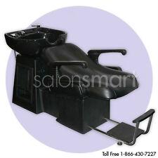 Shampoo Backwash Unit Bowl Chair Bed Salon Equipment L1