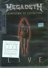 DVD MEGADETH COUNTDOWN TO EXTINCTION LIVE SEALED NEW 2013