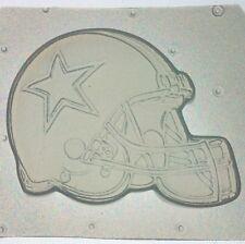 Flexible Mold Dallas Cowboys Helmet Football Logo Resin Or Chocolate Mould